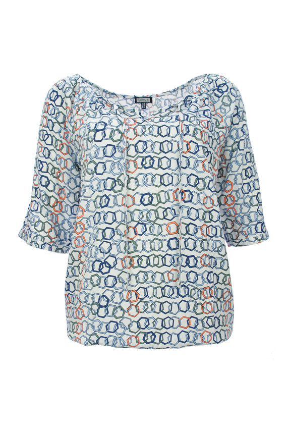 Alloverprint Bluse