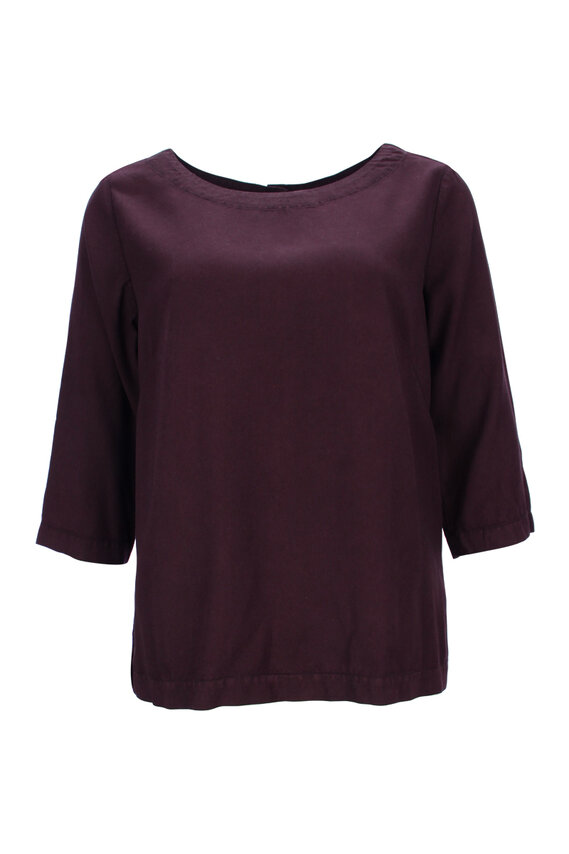 3/4 Arm Tencel Bluse